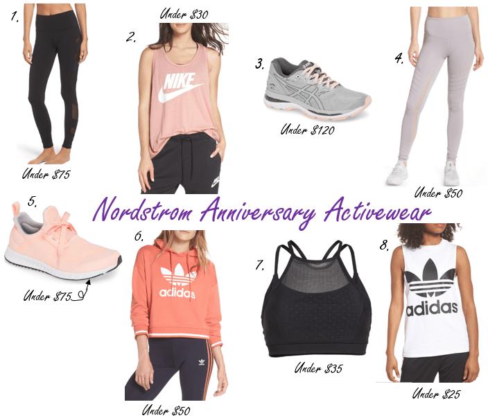 2018 Nordstrom Activewear